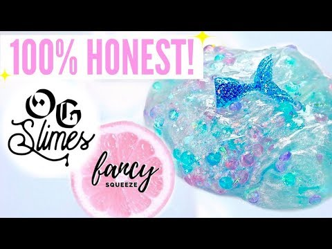 100% HONEST Famous + Underrated Instagram Slime Shop Review! Non-Famous US Slime Package Unboxing