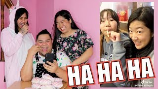 REACTING TO FUNNY TIKTOK VIDEOS (LAPTRIP BES!!)