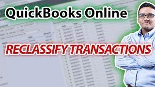 Reclassify Transactions in QuickBooks Online