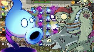 Shadow PeaShooter VS Boss Cướp Biển | Plants Vs Zombies 2 | Hoa Quả Nổi Giận 2