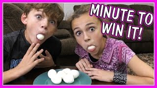 MINUTE TO WIN IT CHALLENGE | OPERATION CHRISTMAS PART 2 | We Are The Davises