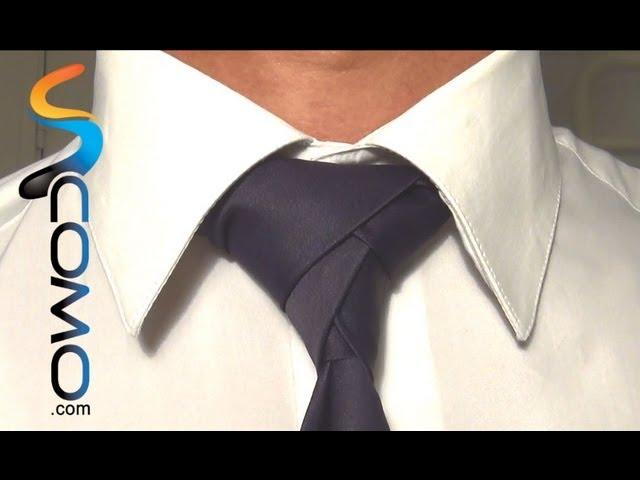 Cómo hacer un nudo de corbata diferente (eldredge)