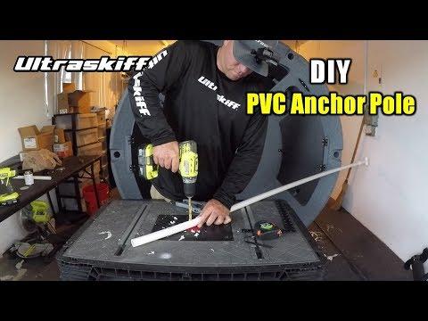 DIY Stake out Pin PVC Anchor Pole Video