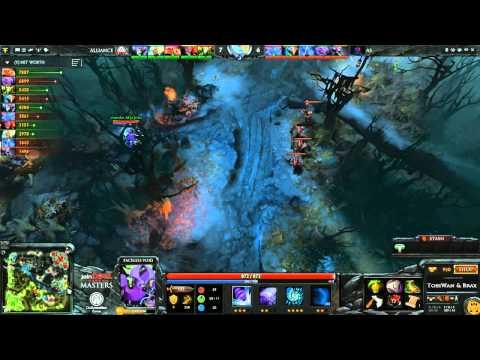 The Alliance vs Album Sheet Game 1  joinDOTA Masters Semifinal  TobiWanDOTA braxlikesdota