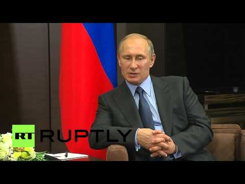 Russia: Putin meets Emirati Crown Prince in Sochi