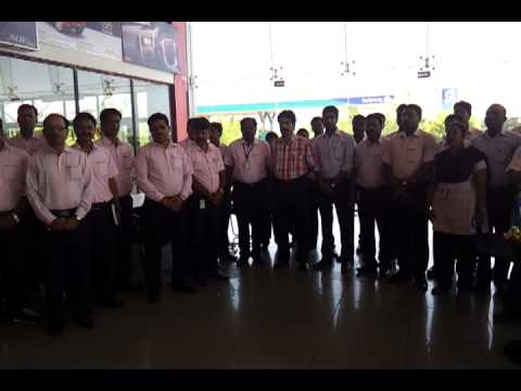 National Anthem of India by Aditya Motors Employees,Cuttack, Odisha,India