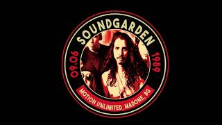 Soundgarden, Motion Unlimited, Madone, Italy 9th June 1989