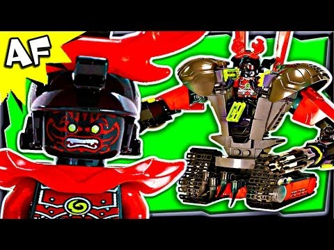 STONE WARRIOR MECH Custom Lego Ninjago 70503 70500 70723 Animated Building Review