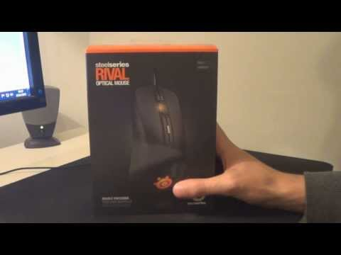 NEW Steelseries RIVAL Gaming Mouse Unboxing/Initial Review
