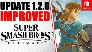 Super Smash Bros. Ultimate Update 1.2.0 is LIVE! - Improved Matchmaking, Balance Adjustments & MORE!