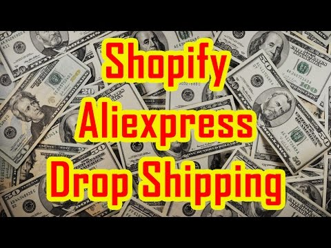 How to start Shopify Drop Shipping from Aliexpress using Oberlo   Review and Tutorial