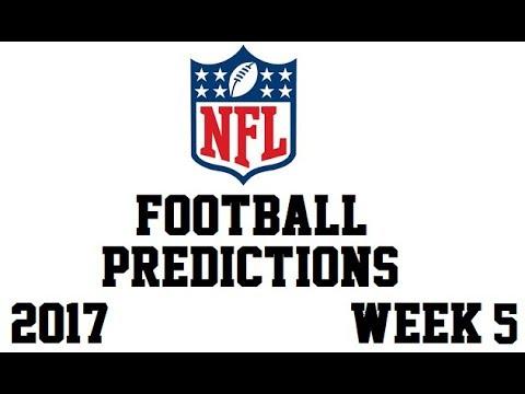 2017 NFL Football Predictions - Week 5