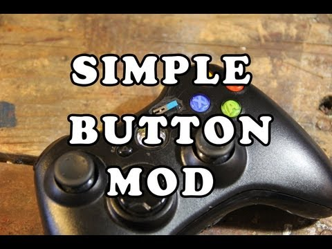 Simple Xbox 360 controller mod for the physically disabled