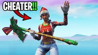 I may have CHEATED with NOG OPS SKINS on Fortnite... (don't BAN me)