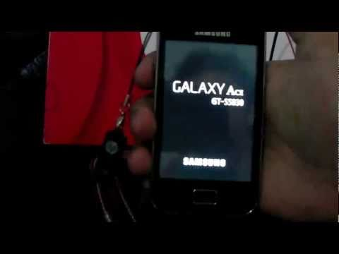 Tutorial Flashear /Actualizar Samsung Galaxy ACE S5830 - Telcel , Froyo Gingerbread