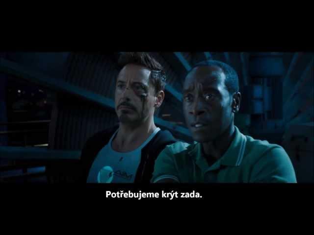Iron Man 3 [cz titulky] trailer 2013