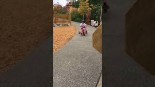 Bike Riding at Olympia Children's Museum
