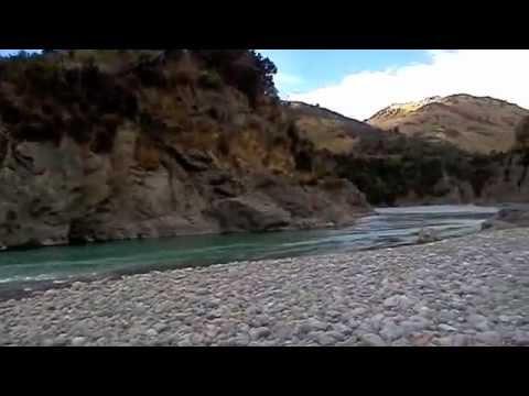 Рыбалка на форель в горных реках Новой Зеландии 2012 г.