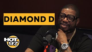 Diamond D Talks Classic Hits, Kanye West, New Album & More w/ Rosenberg