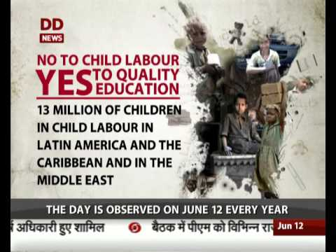 World Day Against Child Labour being observed