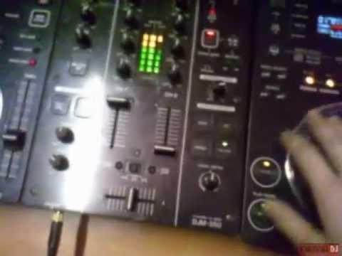 DJ Nix Сведение треков Pioneer CDJ-350 , Pioneer DJM-350