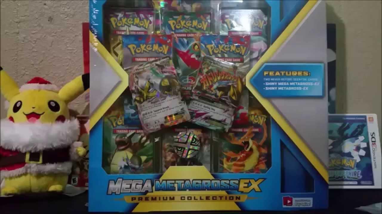 Metagross vs Shiny Metagross Shiny Mega Metagross ex