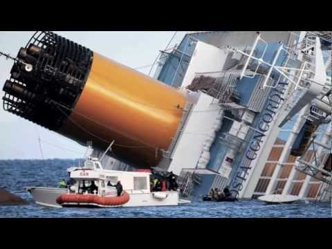 Costa Concordia la tragedia:  Capsized With 4000 on board & Many missing