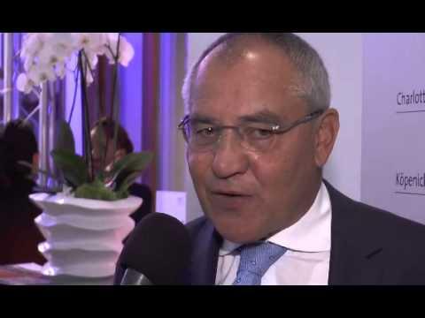 Disziplin und Mannschaftsgeist: Felix Magath auf dem 31. Deutschen Logistik-Kongress