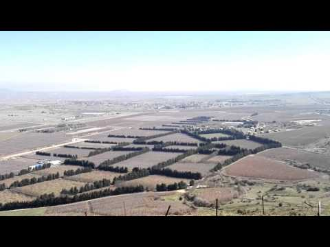 Syria - that's how it looks from the Golan Heights, Israel