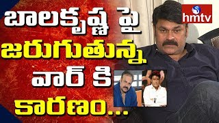 Reasons Behind Nagababu And Balakrishna War | Nagababu Latest Exclusive Interview | hmtv