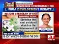 Growth Data: Economists Raise A Red Flag   India Development Debate