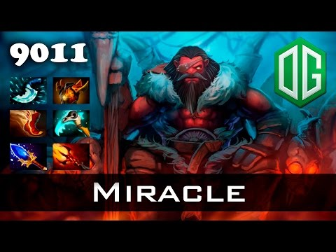 Miracle Axe - 9011 MMR Ranked Dota 2