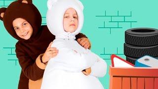ТРИ МЕДВЕДЯ - Песенка ПАПА - веселая развивающая песенка мультик для детей малышей