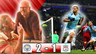 MANCHESTER CITY 2-1 LIVERPOOL FAN REACTION