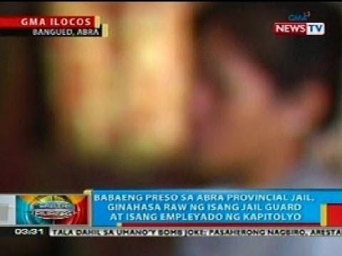 BP: Babaeng preso sa Abra Prov
