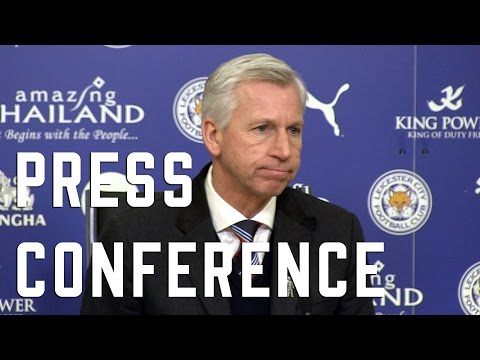 Alan Pardew post-Leicester press conference