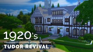 Sims 4  |  Decade Build Series  |  1920s Tudor Revival