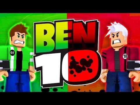 BEN 10 VS EVIL BEN 10 IN ROBLOX! [Rematch] (Ben 10 Arrival Of Aliens)