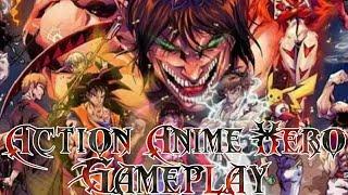 Saiu!! Novo jogo de Anime (Action Anime Hero) Para Android HD
