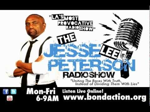 Jesse Lee Peterson Show - Will Black Christians Still Support Obama in 2012?