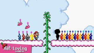 Pikmin... in Super Mario Bros 2! (Day 3)
