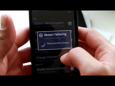 HTC Evo Hacks - Wifi Tether App for HTC Evo 4G!