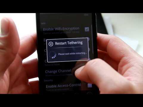 HTC Evo Hacks - Wifi Tether App for HTC Evo 4G!
