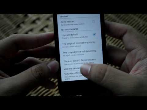 Intercambiar Memoria Externa(SD) Por Interna-Android/Root