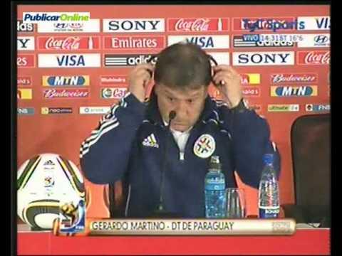 Paraguay ganó por penales a Japón, habla Gerardo Martino, parte 1