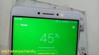 Mi Max time taken charge 0-100% using quick charge 3.0