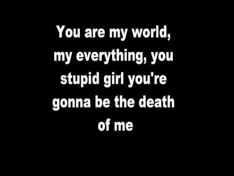 Framing Hanley: You Stupid Girl (lyrics) video
