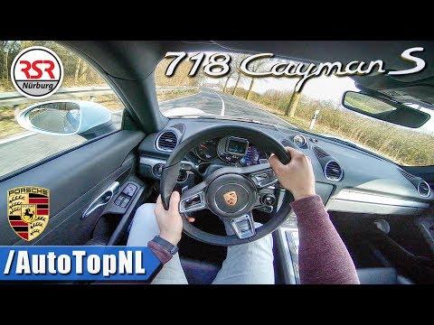 Porsche 718 Cayman S POV Test Drive by AutoTopNL