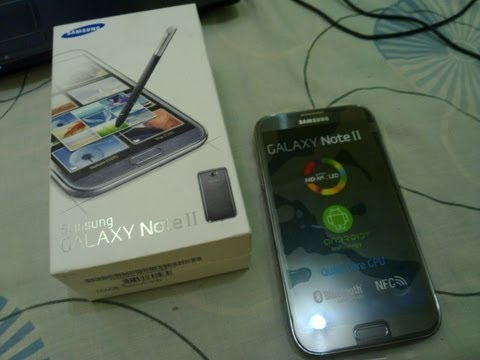 Samsung Galaxy Note 2 FILIPINO STYLE UNBOXING