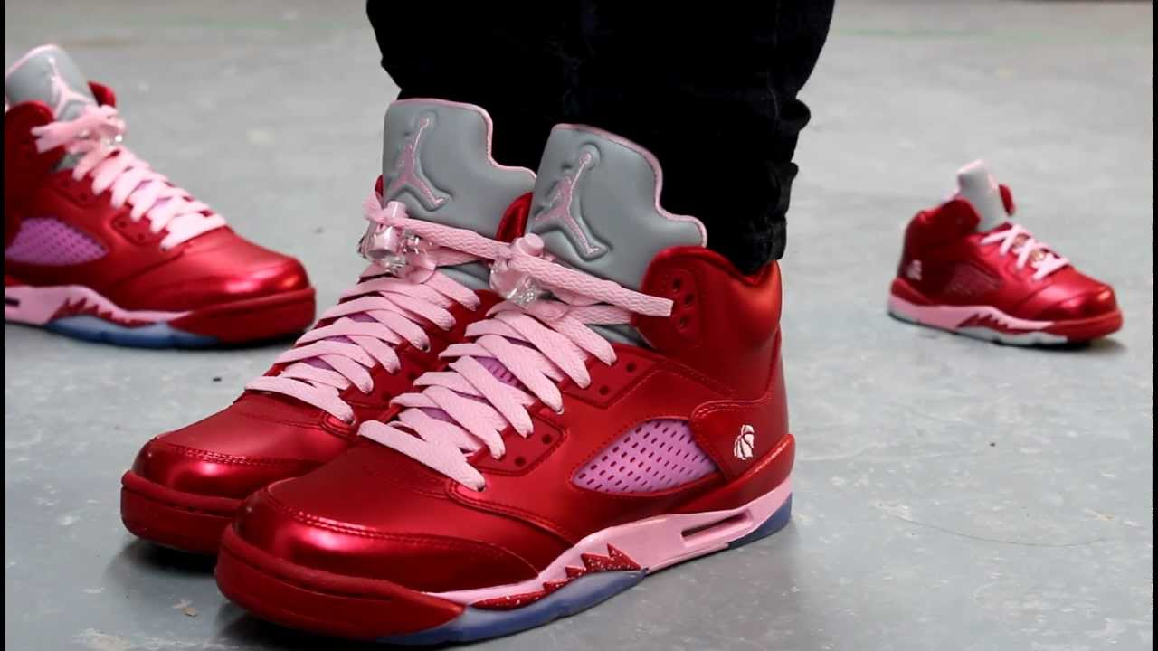 "Air Jordan Retro V GS ""Valentine"